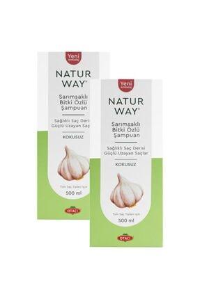 Otacı Naturway Sarımsaklı Bitki Özlü Şampuan 500 ml X 2 Adet