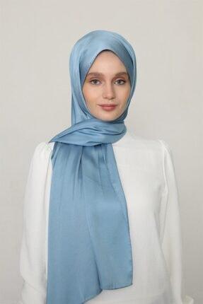Karaca Kadın Açık Mavi Kristal Şal
