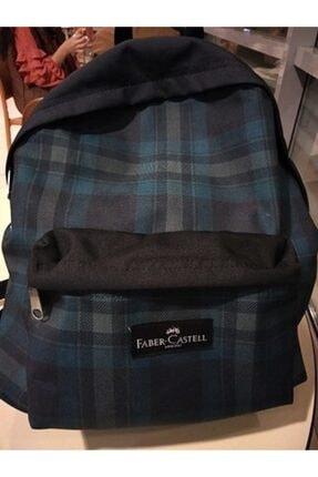 Faber-Castell Unisex Mavi Sırt Çantası