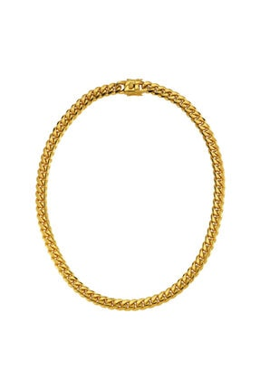 LUZDEMIA Bold Necklace - Gold
