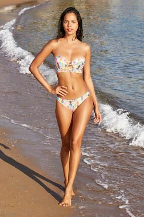 No Gossip Kadın Ananas Klasik Bikini Altı 179202-D