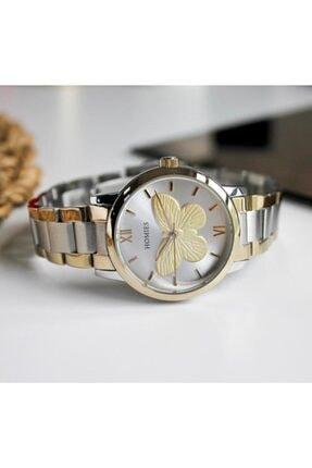 Homies Kadın Altın Gümüş Kol Saati