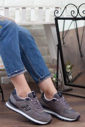 Hammer Jack Kadın Gri Bağcıklı Spor Ayakkabı • A19gyhmj0001