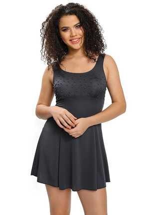 Armes Kadın Elbise Mayo Etekli Gri 9010-18