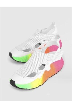 İlvi Kadın  Ural Hakiki Deri Beyaz Spor Ayakkabı