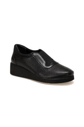 Polaris Hakiki Deri Siyah Kadın Ayakkabı 92.101093.Z