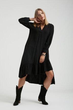 Batik Çizgili Casual Elbise