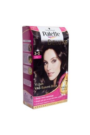 Palette Saç Boyası 3-0 Koyu Kahve