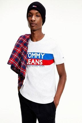 Tommy Hilfiger Contrast Color Logo Crew Neck T-shirt Dm0dm09483