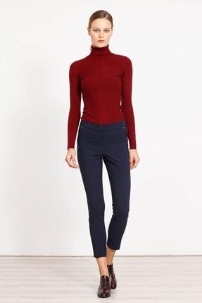 Moda İlgi Kadın Yan Cep Dar Paça Pantolon