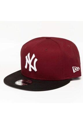 New Era Bordo Şapka