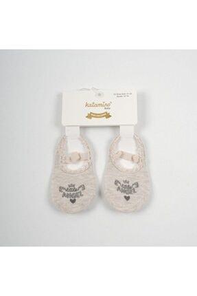 Katamino Kız Bebek Babet Çorap