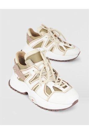 İlvi Kadın Bej Sneaker