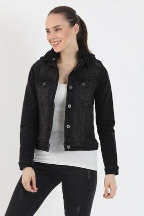 VENA Kadın Siyah Denim Ceket