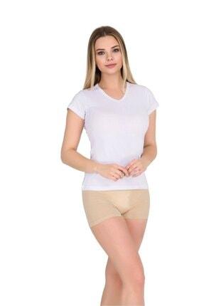 Berrak Kadın Kolsuz Body T-shirt Gri | 6 Lı Paket