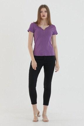 VENA Kadın Mor T-Shirt