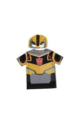 Transformers Unisex Çocuk Bumblebee Üst Kostüm T-shirt