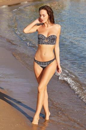 No Gossip Kadın Afro Klasik Bikini Alt 179202-D