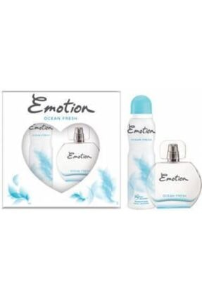 Emotion Ocean Fresh Bayan Edt 50 Ml + 150 Ml Deodorant Parfüm Seti
