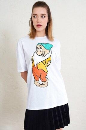 Eka Yedi Cüceler Baskılı T-shirt