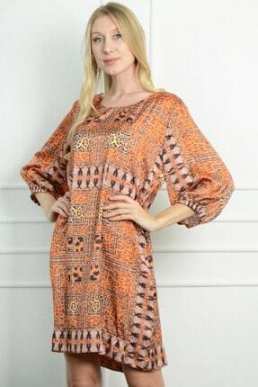 Herry Kadın Taba Elbise 20dmy1708