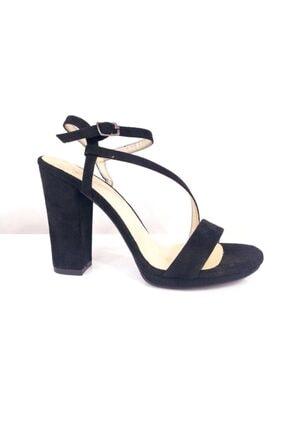 Punto Kadın Siyah Kalın Topuk Ayakkabı 634128z