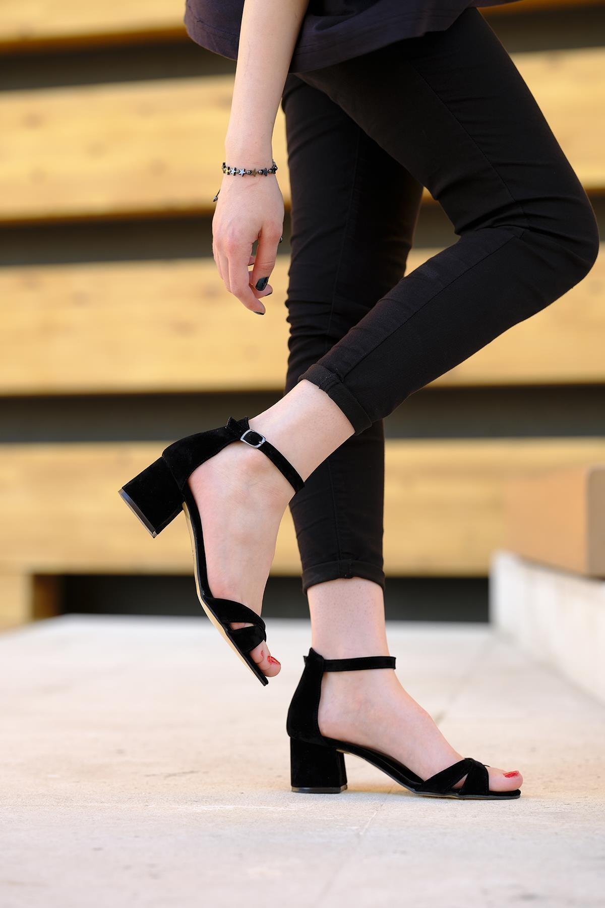 Oksit Giyim Florin Sana Topuklu Ayakkabı