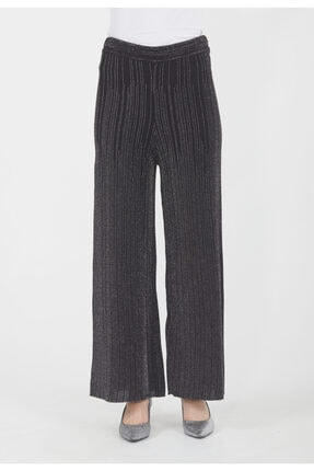 Setrms Kadın Siyah Simli Pantolon