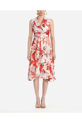 Ayhan Kadın Nar Çiceği Elbise