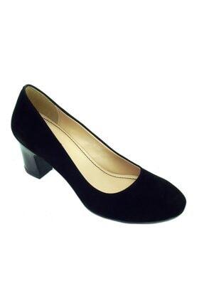 Polaris Kadın Siyah Topuklu Ayakkabı