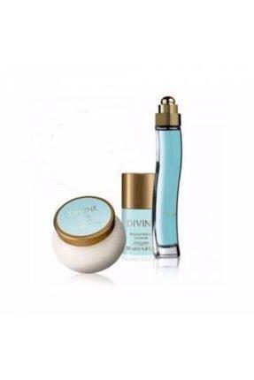 Oriflame Divine Edt 50 ml Kadın Parfümü 3'lü Set