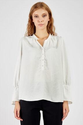 Manche Kadın Ekru Kadın Gömlek | Mk20s162036