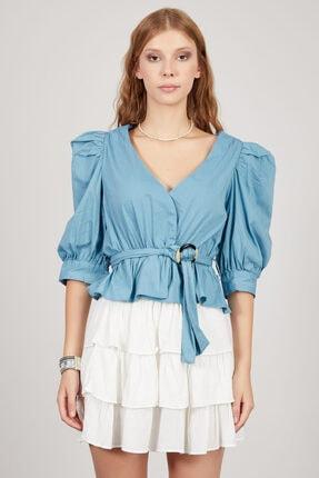 Manche Kadın Aqua Gömlek Mk20s162604