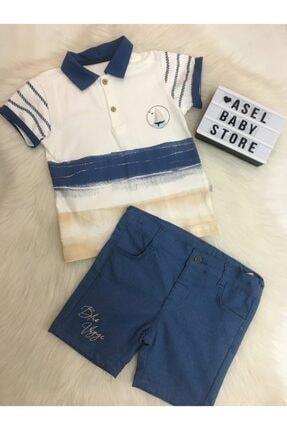 Bebetto Erkek Çocuk Polo Yaka T-shirt Ve Şort Takım