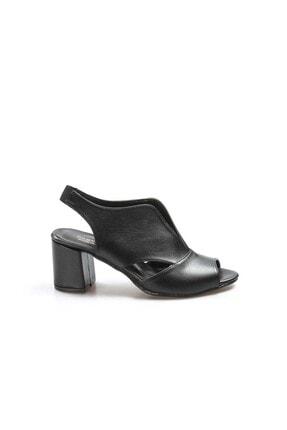 Fast Step Siyah Kadın Kısa Topuklu Ayakkabı 917za703