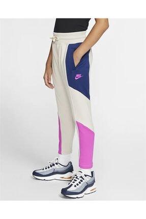 Nike Kız Çocuk Krem Pembe Günlük Outdoor Eşofman Altı Cj7425-104