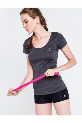 Pulsar Kadın Gri Kısa Kol T-shirt