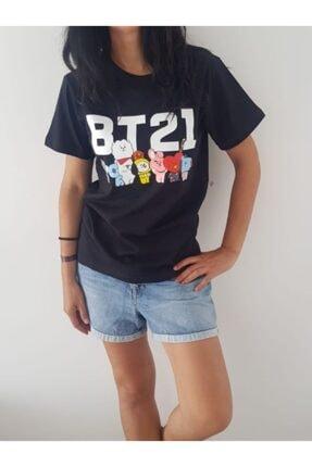 Köstebek Kadın Siyah T-shirt