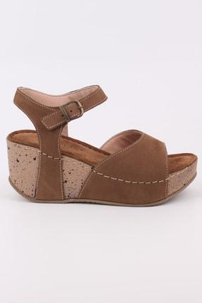Kadın Ayakkabı Yazlık Dolgu Taban Yüksek Topuk OKR-4-