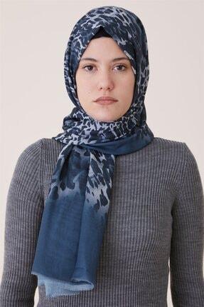 Kayra Kadın Lacivert Şal Ka-b9-sal29-11