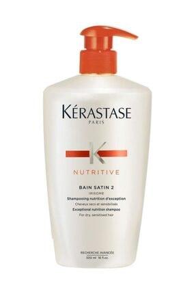 Kerastase Nutritive Bain Satin 2 Irisome Hassas Saç Şampuanı 500 ml