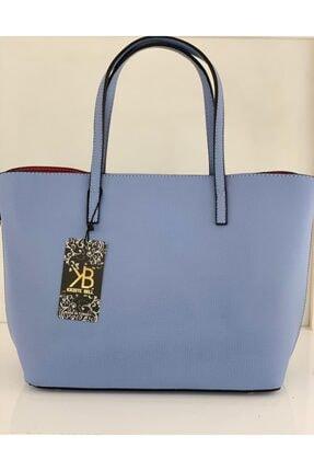 Kriste Bell Kadın Mavi Suni Deri Çanta