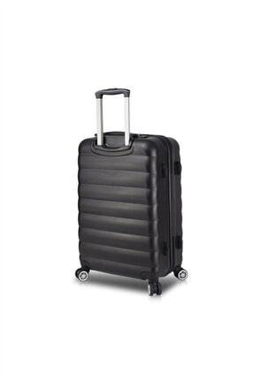 My Valice Smart Bag Colors Usb Şarj Girişli Orta Boy Valiz& Mv3850-o-Siyah
