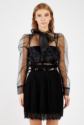 Manche Kadın Siyah Bluz | Mk20s172012