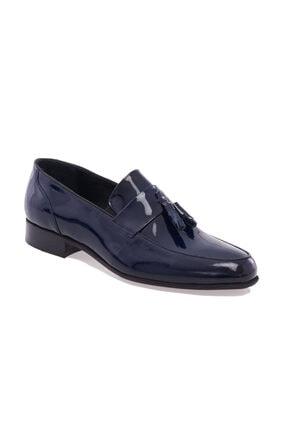 Altınyıldız Classics Erkek Lacivert Klasik Rugan Ayakkabı