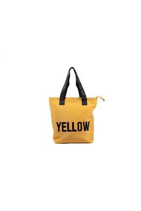 Dsn Kadın Sarı Omuz Çantası Y5367