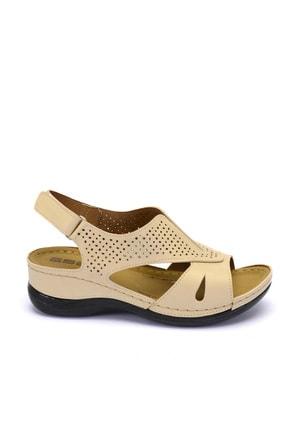 Esem Esm246.z.002 Kadın Sandalet Bej