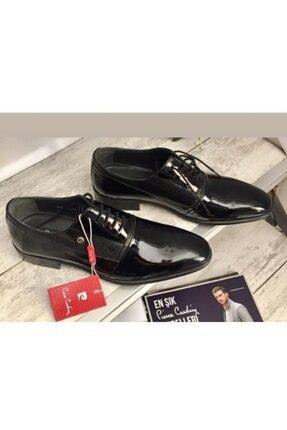 Pierre Cardin Erkek  Siyah Rugan Deri Ayakkabı
