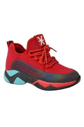 Guja 20k355-1 Kadın Anatomik Sneaker Spor Ayakkabı Kırmızı