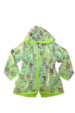 Midimod Kız Bebek Yeşil Yağmurluk